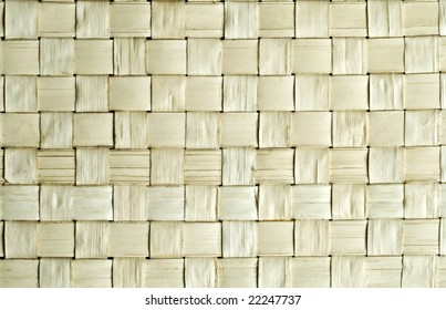 Pattern background: entwined bands of reed bark
