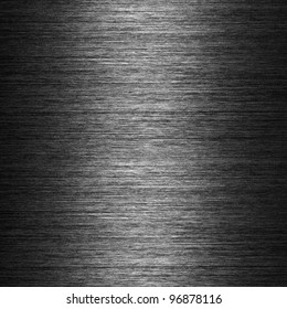 pattern of Brushed metal background. metal plate template