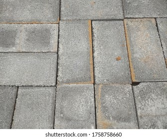 Pattern of Concrete Blocks for Construction.