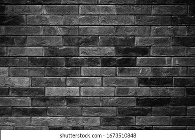 pattern of decorative black slate stone wall surface as a background
