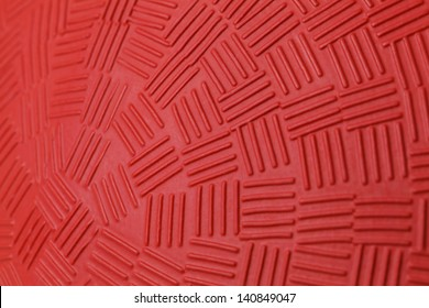 Pattern Design of Red Rubber Ball.