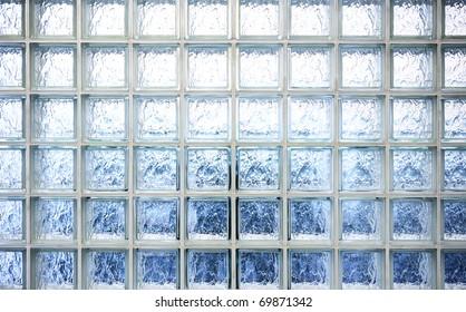 Pattern of glass wall