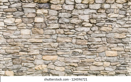 pattern gray color of modern style  design decorative  cracked real stone wall surface with cement