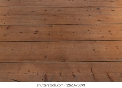 Pattern of honey-colored light wooden boards, horizontal image