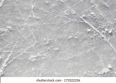 Pattern of the ice surface background