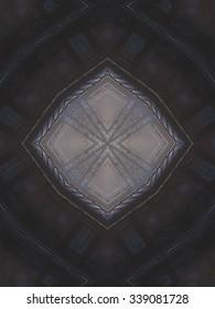 Pattern of macro kaleidoscope abstract background patern