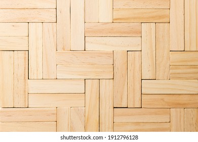 pattern made of wooden bars. wooden background