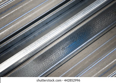 pattern of metal products, abstract composition