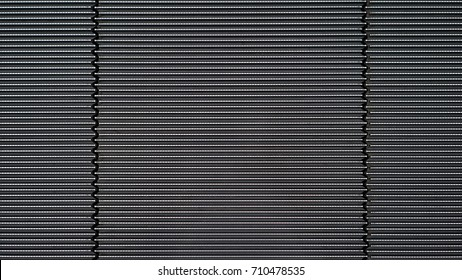 Pattern of metal staircase of an escalator floor, Steel plate texture background