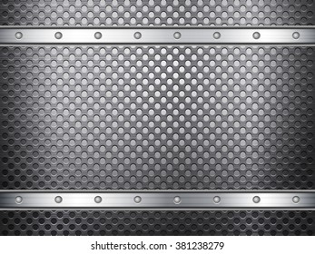 Pattern of metal texture background.