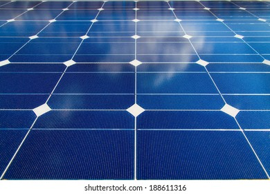 Pattern of mono-crystalline photovoltaic cells