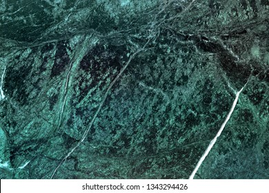 Pattern of natural dark green marble texture. Background for product design