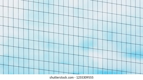 pattern of office skyscraper building for background