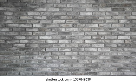 The pattern of old beautiful light gray brick wall and texture, minimal style. Use as background or wallpaper. Copy space for editing and text. Oldie but goodie.