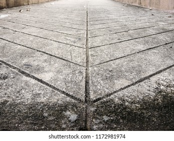 Pattern on the walkway, Pattern Stones, brick on the floor, walkway in the garden as the background.