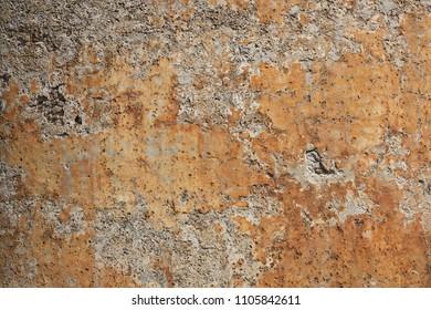 Pattern on a wall, Sardinia, Italy