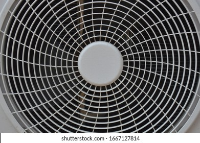 Pattern of the partition panel for air conditioning ventilation fans