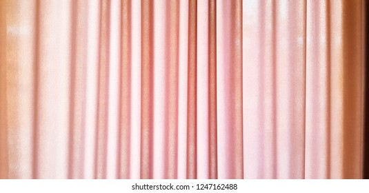 Pattern of pink curtain, fabric or cotton hanging for background  - Art or Abstract, Colum and Wallpaper concept