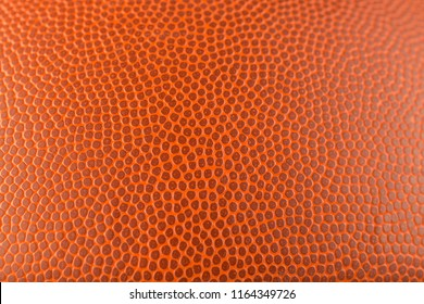 pattern of seamless orange textured basketball background