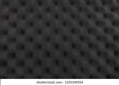 The pattern of the soundproof panel of polyurethane foam. Acoustic foam wall.