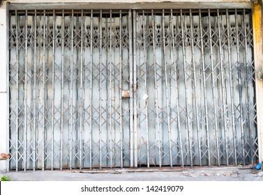 pattern of Steel stretch door