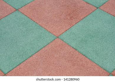 The pattern of stone block