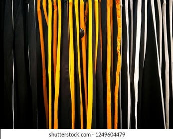 Pattern of stripe lines if colorful clothes