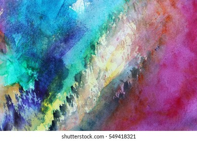 Pattern for textile or Art background, Colorful abstract art, Blue abstract background, Be creative, Watercolor background, Colorful abstract art