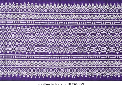 Pattern texture Thailand of native cloth.