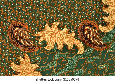 Pattern for traditional clothes include batik