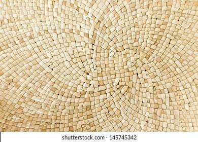 Pattern of weave mat
