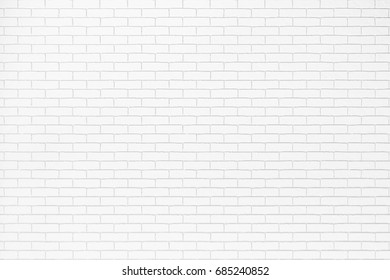 Pattern white brick wall texture in modern style reflected minimalism ,Zen way of life. background is for backdrop design, composition art image, website, magazine or graphic for commercial campaign