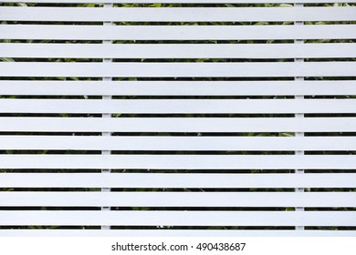 pattern of white wooden wall