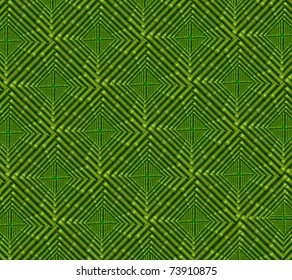 Patterned background from the stalks of bamboo flooring