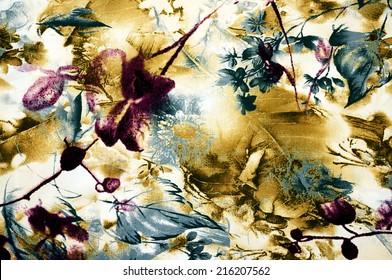 patterned batik fabric suitable as background