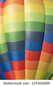 Patterned hot air balloon canopy background
