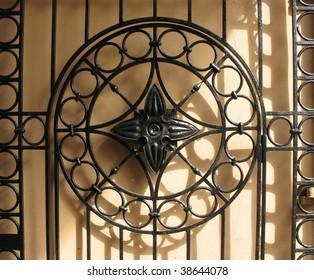 Patterned metal gates