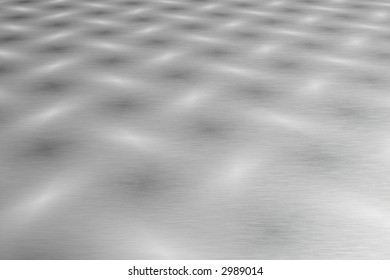 Patterned stainless steel metallic background
