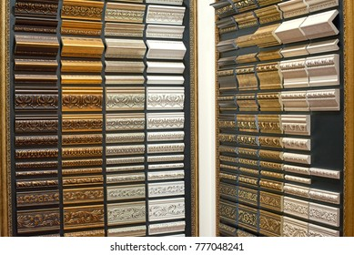 patterns of ceiling cornices