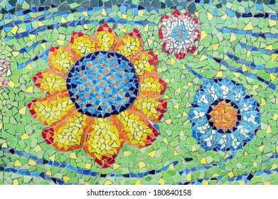 Patterns colors of Ceramic Tile.