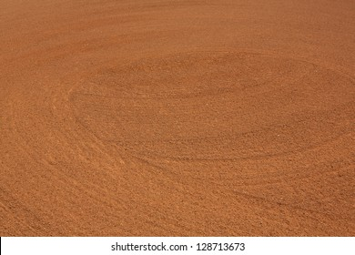 Patterns of the Infield Dirt for Sports Background