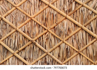 Patterns made of natural wood materials.