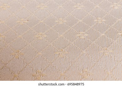Patterns on the fabric. Background of fabric