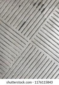 Patterns on floor tiles