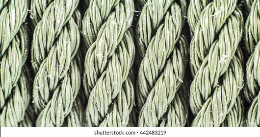Patterns or texeure of old nylon rope.