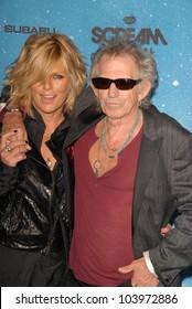 Patti Hansen and Keith Richards at Spike TV's 'Scream 2009!'. Greek Theatre, Los Angeles, CA. 10-17-09