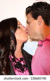 Patti Stanger and David Krause at the Hollywood In Bright Pink, Bagatelle LA, West Hollywood, CA 10-09-13