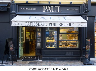PAUL bakery and café in Rue Meynadier, Cannes, France. September 24th 2015
