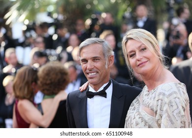 Paul Belmondo  and Luana Tenca attend the Closing Ceremony during the 70th annual Cannes Film Festival at Palais des Festivals on May 28, 2017 in Cannes, France.