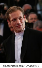 Paul Hamy attends the premiere of 'The Sea Of Trees' during the 68th annual Cannes Film Festival on May 16, 2015 in Cannes, France.